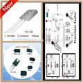 Pont de diode schottky tube mos rectifiers1n5819( pièces et composants électroniques)
