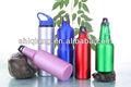 eco alumínio esportes garrafas de água jarras com mosquetão