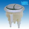 Autoclismos mecânica 58mm interruptor de tecla tampa de plástico com botão de normalmente fechado e anti- corrosão