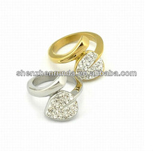 Nouveau produit crysatl anneaux plasma des pastilles de buses de coupe swirl anneau électrode de naissance anneau pendentif