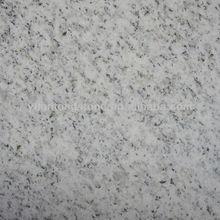 ice white granite slab and tiles