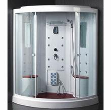 Corner Modular Hydro Shower Steam