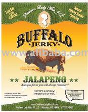 Southern Lady Miss JR Buffalo Jerky (Jalapeno)