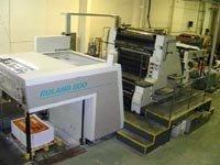 Roland 800 2 color machine