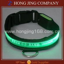 Flashing led pet strap