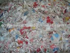 Shredded Plastic Scrap
