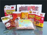 Beef Floss (Abon Sapi), Chicken Floss (Abon Ayam), Jerked Meat (Dendeng Sapi)