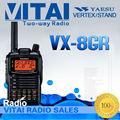 100% yaesu original vx-8gr pantalla lcd inalámbrica gps guía turístico del sistema