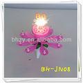número de apertura espumoso de la flor musical de torta de cumpleaños vela