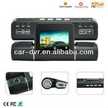 """Hot 2.7""""Dual lens car dvr mini camera spy"""
