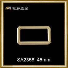 Fashion zinc alloy top release buckle