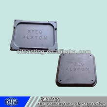 clay sand casting grey iron casting cover plate