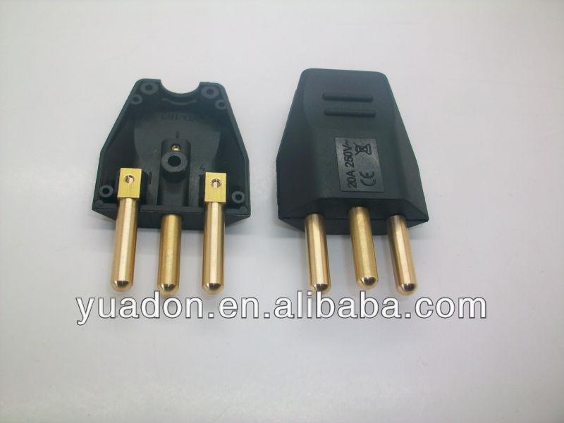 20a 250v Plug Wholesale 20a/250v 3 Pin Plug