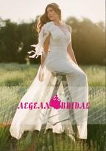 MW-010 Free Shipping Classic Asymmetrical Sheath Organza Bow Wedding Dress 2012
