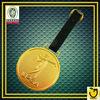 Gold Plating Golf Bag Tag