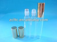 10ml glass bottle roller,empty perfume glass bottle for eye cream
