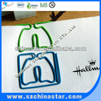 lung shape fancy paper clips
