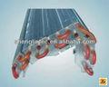 chine refroidi par air tube de cuivre à ailettes en aluminium condenseur condenseur usine