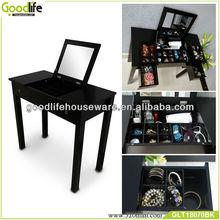 wooden modern black dressing tables