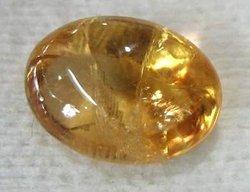 batu permata kecubung kuning stone