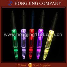 plastic material led ballpoint pen