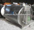 5000l stainless steel milk storage tank for transportation