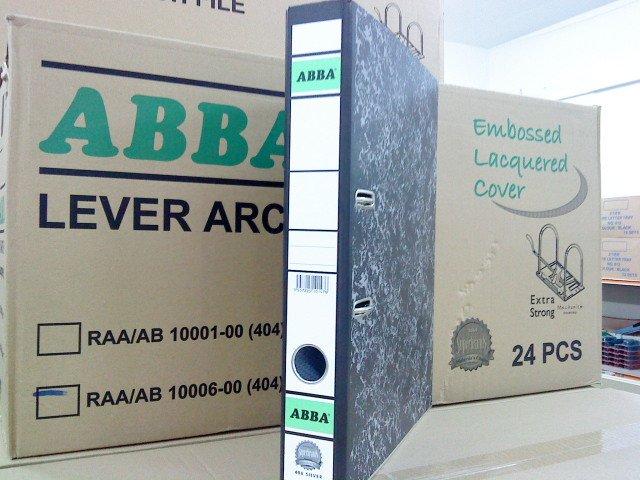 Lever Arch File. ABBA SILVER LEVER ARCH FILE 2quot;