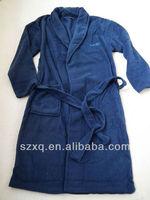 zipper front robes