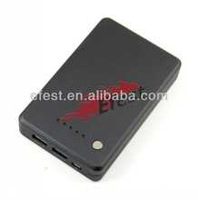 Power bank 10000mAh power 2slots for digital camera, PDA, PSP, MP3, MP4, iPod, DV