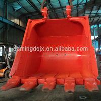 Excavators parts excavator bucket for Hitachi EX55 EX120 EX200 EX210