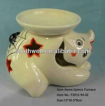 Porcelain Spiece Furnace Halloween