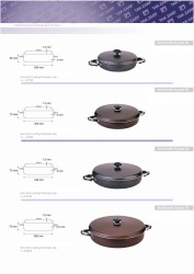 Two Handle Frying Pan Normal Sizes