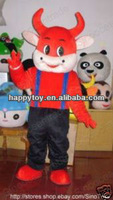 HI CE Promotional farm animal mascot costume