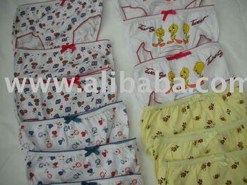 Girls Underwear Aged 2 to 3 years old