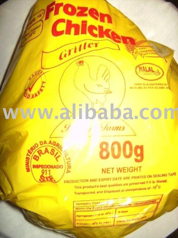 Chicken - Halal Frozen Whole Griller Chicken