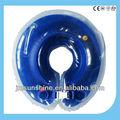 Transparente novo bebê nadar equipamentos& float pescoço anel de cor azul escuro