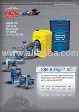 Different kinds of motor oils