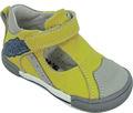 Leater genuino zapatos de bebé, niños sandalias