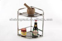 Conner de acero inoxidable de la cocina estante de placa xyf-1890l