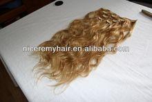 high quality human hair large flower hair claw clips