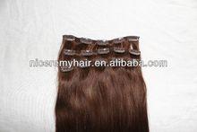 high quality human hair hair closure clip