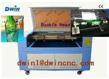 Best+Newest 1490 80W double heads laser cutting machine
