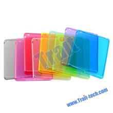 Wholesale Smooth Transparent TPU Case Cover for iPad Mini
