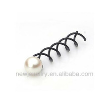 The Cheapest Black Screw Hair Clip,Hot Sale,Original Factory Supply