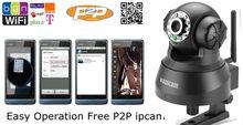 2013 new design dslr camera bag TF card support IPhone view indoor mini ip kamera
