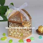 "wholesale and retailing wedding decoration""filigree"" design wedding gift boxes"