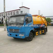 dongfeng duolika 4 cbm vácuo caminhãodesucçãodeáguadeesgoto