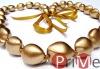 Kukui Metallic Gold Necklace