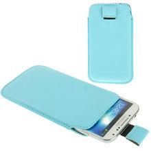 Universal Leather Case for Samsung Galaxy S IV, fashion Pocket Sleeve Bag for Samsung Galaxy i9500
