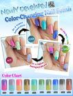Soak off uv/led nail gel polish--High quality magic changing nail polish color
